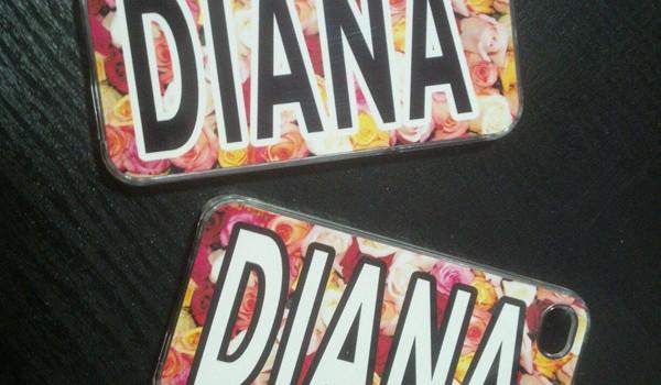 Чехол на IPhone 4 «DIANA»